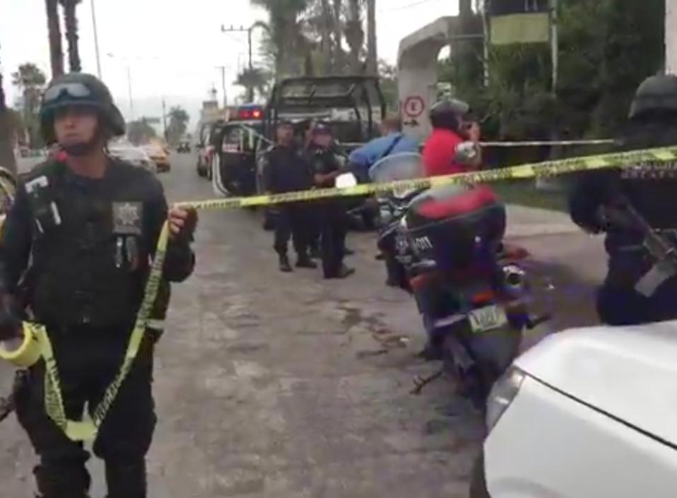 Lesionado por arma de fuego en hotel Ignacio