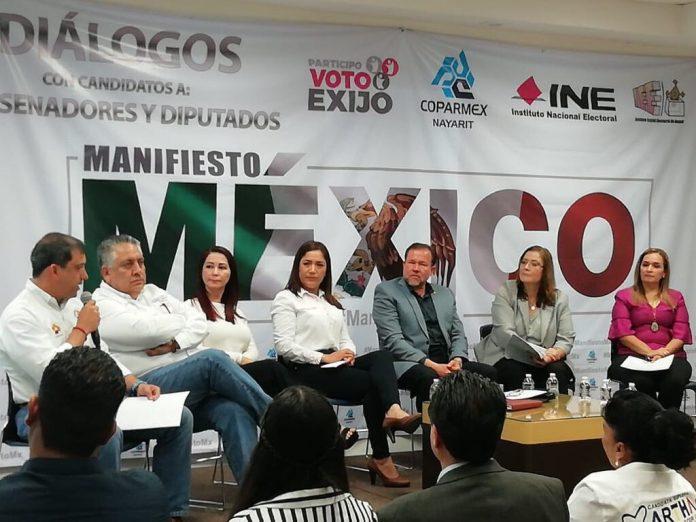 candidatos a Senadores de la República y a Diputados Federales por la Coalición por México al Frente