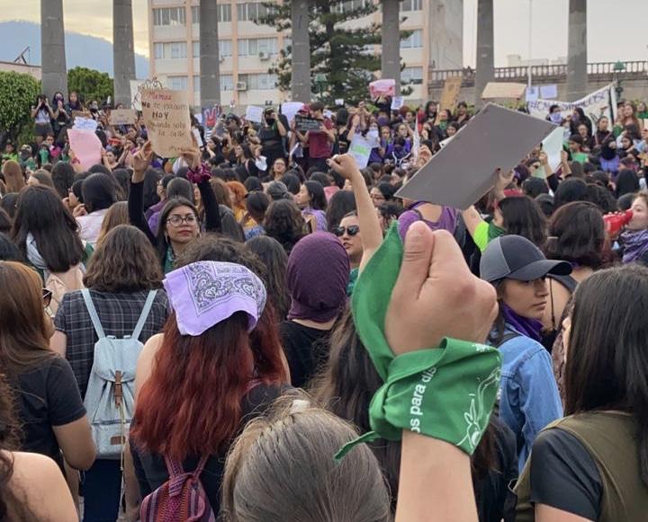 Cientos de mujeres realizan marcha para alzar la voz en Tepic | Certeza  Política